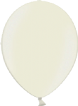 "12"" Metallic Ivory Latex Balloon"